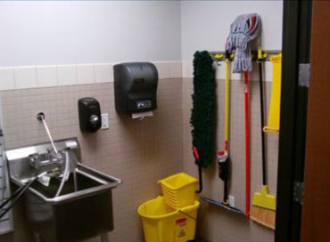Janitor Room In Hospital